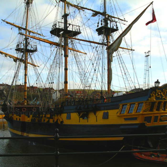 Whitby Bark Endeavour Excursion