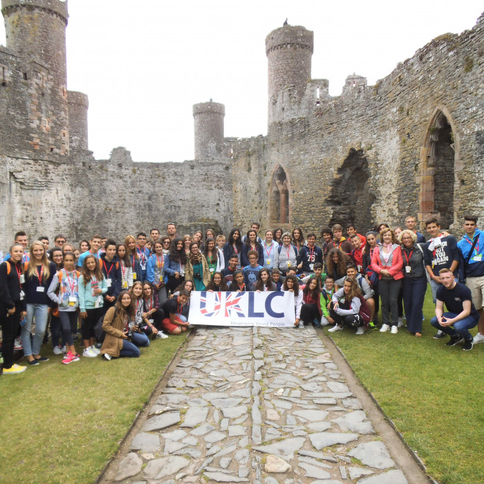 Conwy Castle Excursion - Group Picture