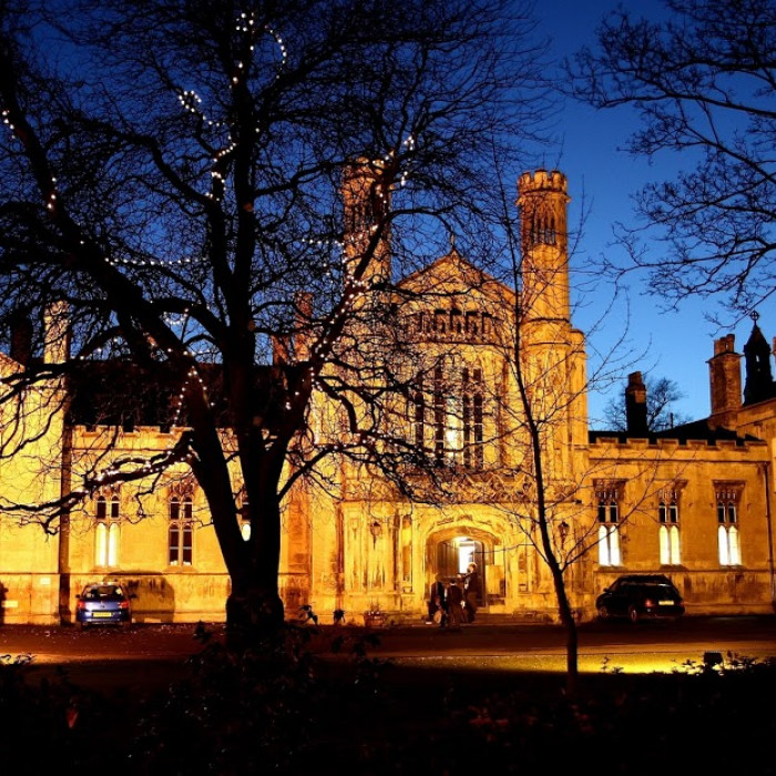 St Peter's School, York Main Building at Night