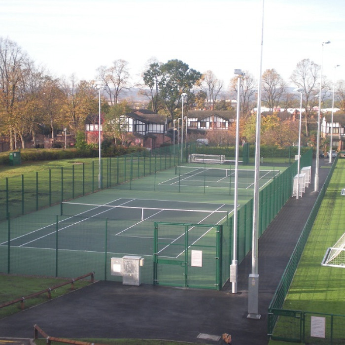 University of Chester Tennis Courts