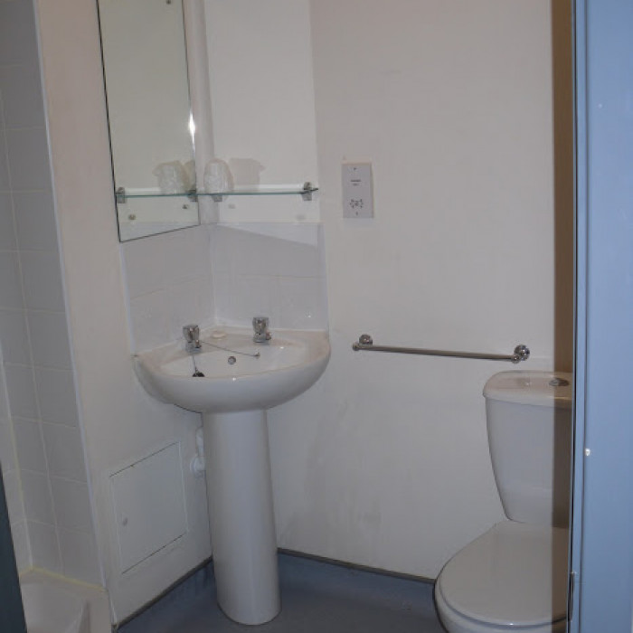 Reaseheath College Chetwood Accommodation Bathroom