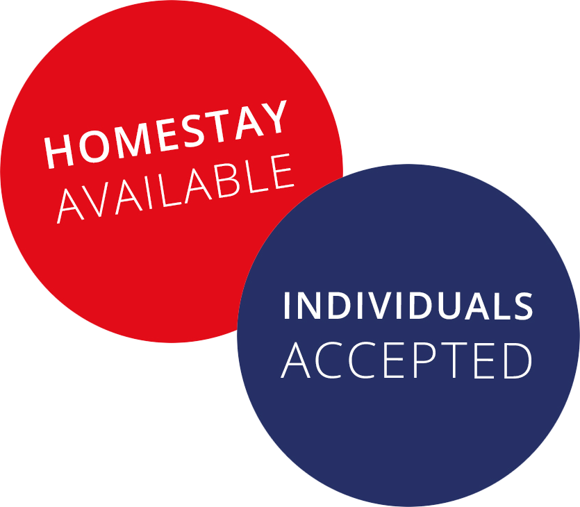 HOMESTAY AVAILABLE And INDIVIDUALS ACCEPTED